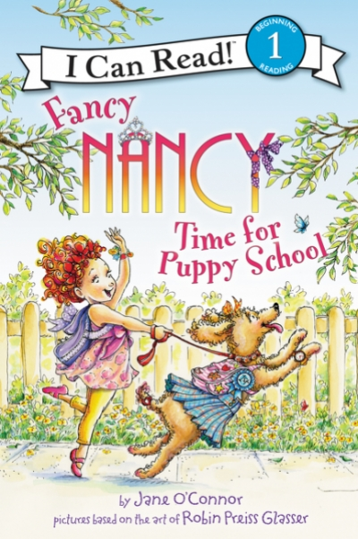 Fancy Nancy Time For Puppy School